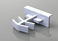 Foam Spacer Grid Clips for 3/16 x 1/2 Inch (in) Flat Bar